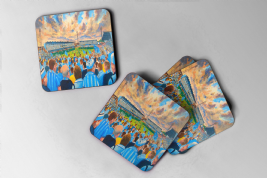 highfield road Coaster set of four